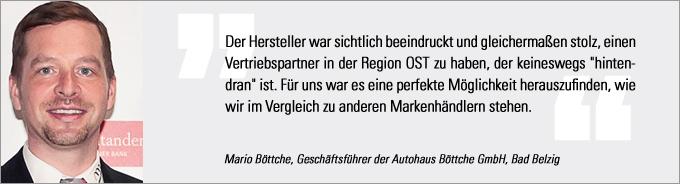 Mario Böttche, Vertriebs Award