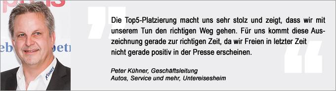 Deutscher Werkstattpreis, kfz-betrieb