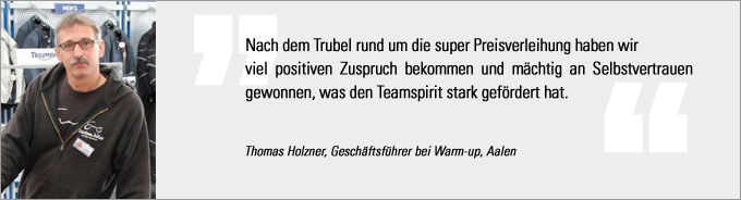 Motorradhändler des Jahres, Statement Holzner, bike und business