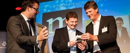 Gewinner des B2B Marketing Kopf des Jahres Dr. Andreas Bauer