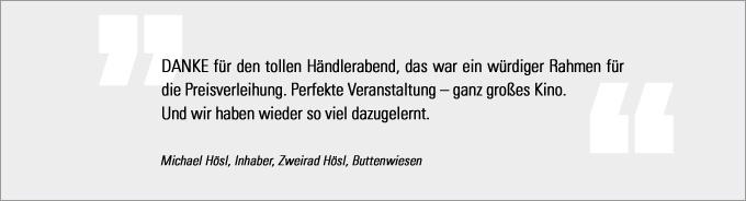 Statement Michael Hösl