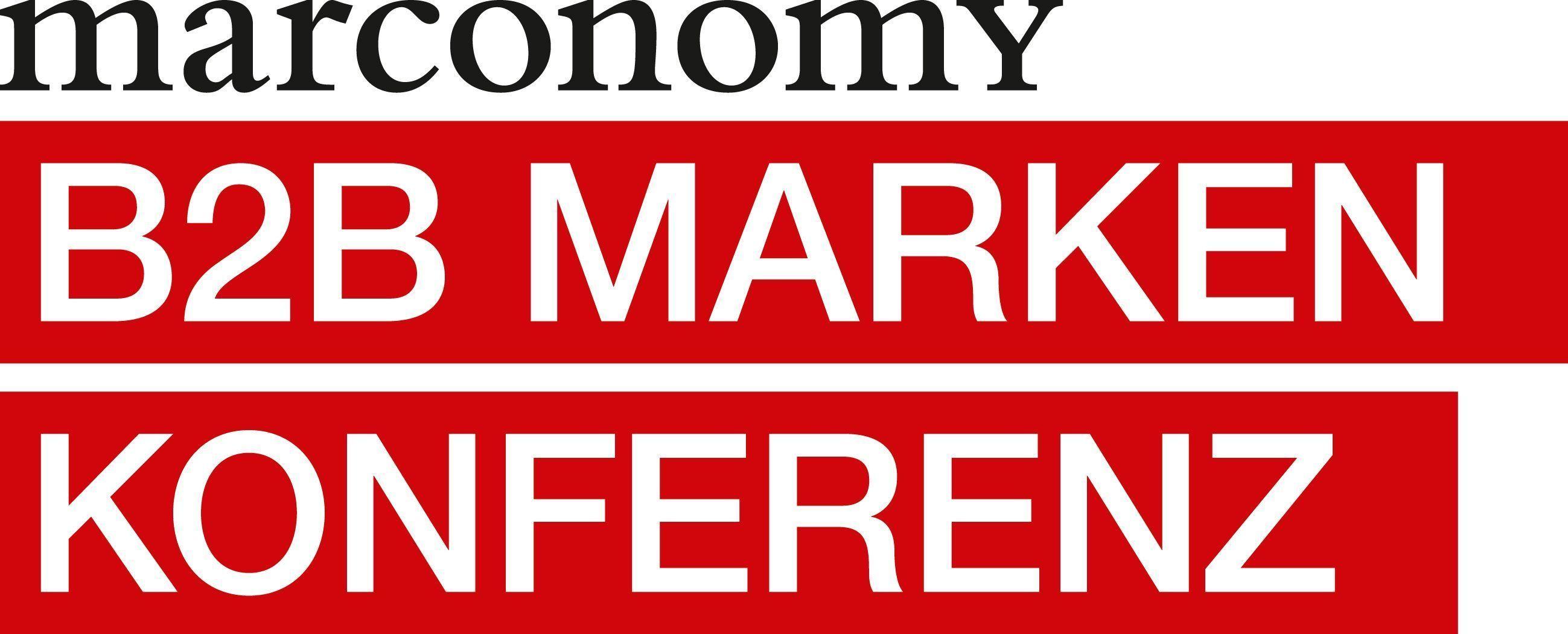 marconomy Markenkonferenz B2B