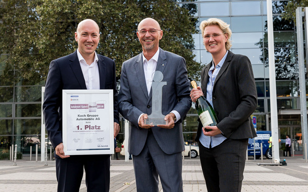 Koch Gruppe Berlin, Internet Sales Award 2016