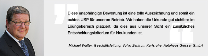 Michael Walter, Vertriebs Award