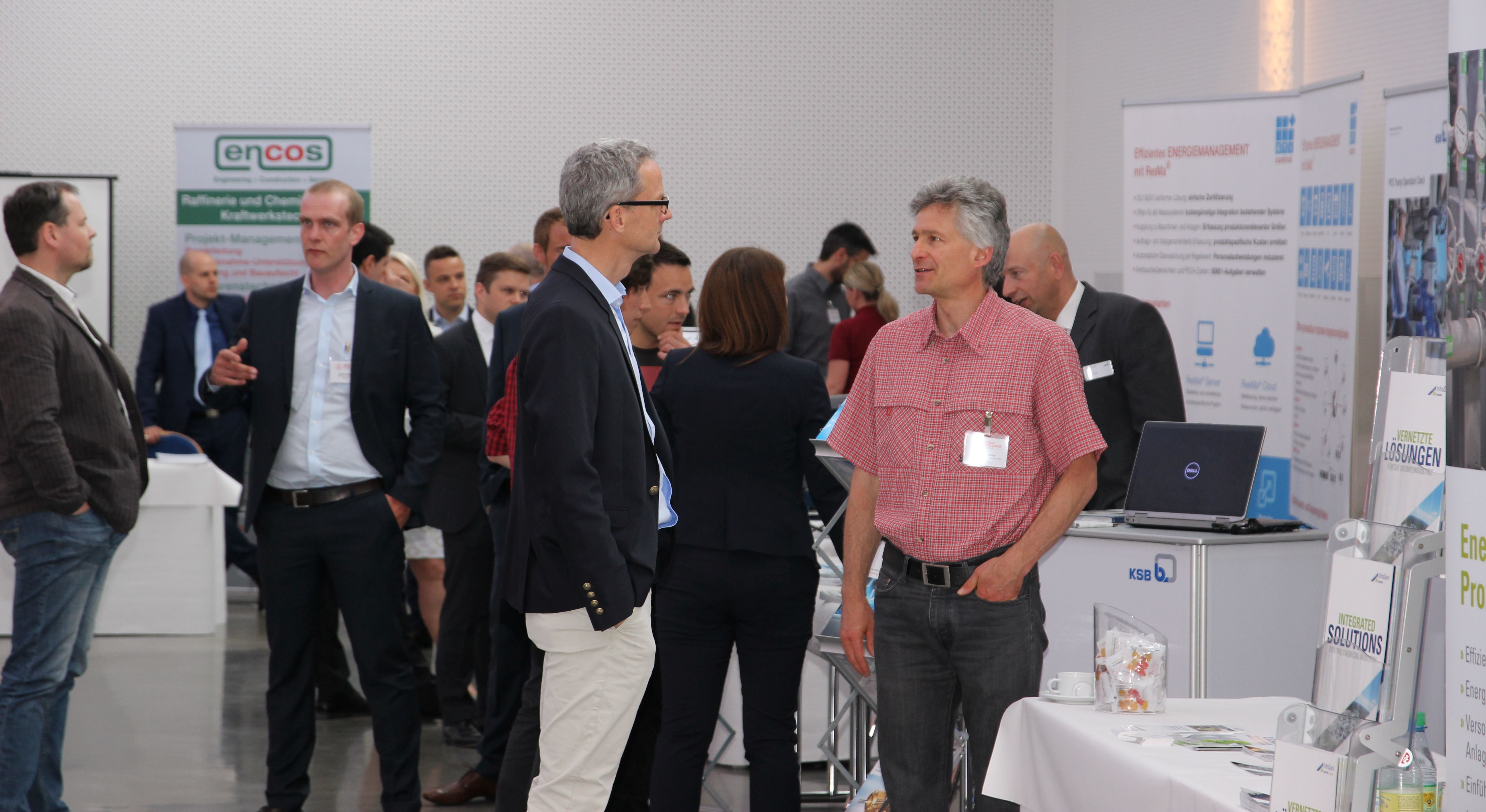 Energy Excellence Forum 2016: Networking auf der Ausstellung