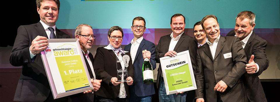 Gebrauchtwagen Award 2017