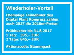 Wiederholer-Vorteil Smart Process Manucafturing Kongress