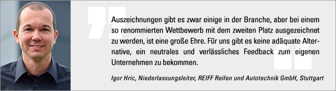 Deutscher Werkstattpreis, Igor Hric
