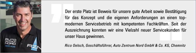 Deutscher Werkstattpreis, Rico Oelsch