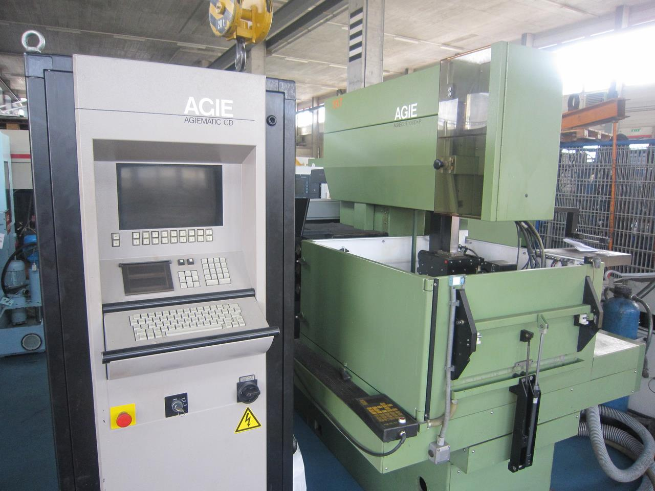 Drahterodiermaschine - AGIE AGIECUT 100 D