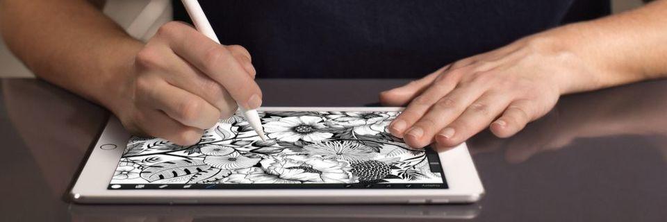 Vielen war das iPad Pro mit 12,9 Zoll Bildschirmdiagonal zu groß, daher bringt Apple nun eine 9,7-Zoll-Variante.