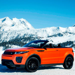Gefahren: Range Rover Evoque Cabriolet