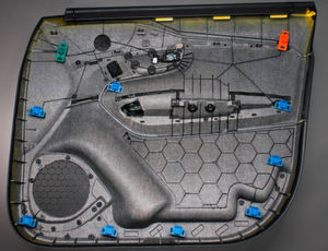 IAC HybridFleece Molding Konzept-Türträger