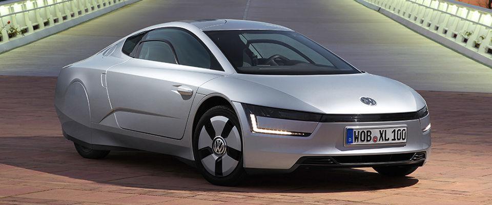 """VW auf der Suche nach neuer Plattform - in der IT und bei Auto soll es hybrid zugehen. Das Foto zeigt das Modell """"XL1""""."""