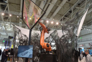 Research & Technology in Halle 2 auf der Hannover Messe 2015.