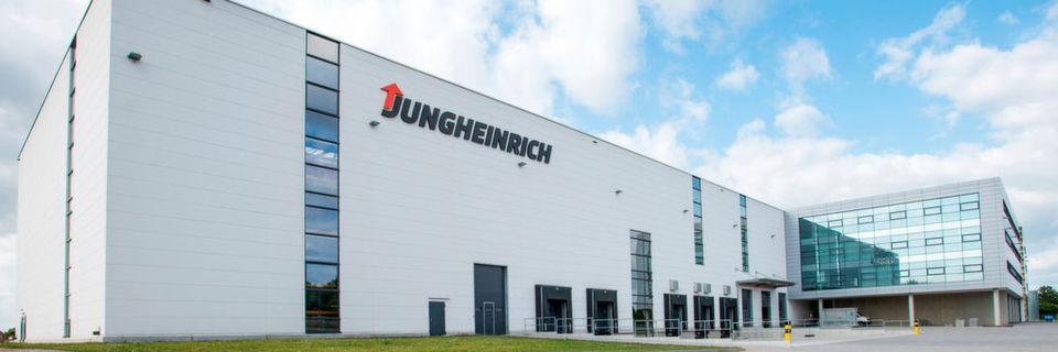 Das Jungheinrich Ersatzteillager in Hamburg-Kaltenkirchen.