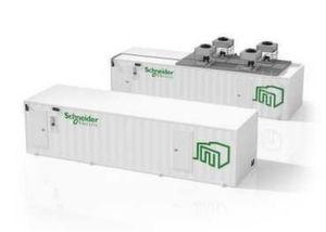"""Die """"Smart Shelter""""-Container von Schneider Electric werden bereits im Werk weitgehend konfiguriert."""