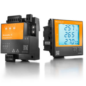 Um Energieverbräuche von Produktionsanlagen im Detail zu messen, bietet Weidmüller verschiedene Energiemessgeräte an.