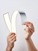 Flexible Leuchten lassen sich mit der OLED realisieren.