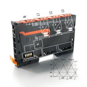 Mit diesem Drei-Phasen-Leistungsmessmodul lassen sich die Kennzahlen von elektrischen Verbrauchern in Echtzeit erfassen und ein Energiemonitoring realisieren.