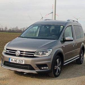 VW Caddy-Alltrack: Der Lifestyle-Kastenwagen