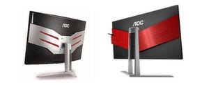 Die 16:9- und 21:9-Displays der Agon-Serie von AOC sind schon durch ihr Design sofort als Gaming-Monitore erkennbar.