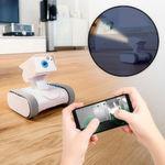 Ostereier sucht man jetzt mit dem Roboter! Den Überwachungsroboter mit Kamera gibt es bei www.mosnterzeug.de für 119,95 Euro.