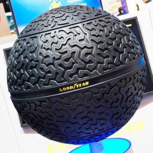 Der Eagle-360 ist eine Goodyear-Reifenstudie für selbstfahrende Autos