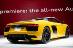 Die offene Variante kommt rund ein Jahr nach der Markteinführung der neuen R8-Generation.