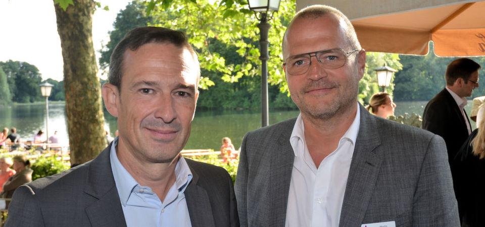 Olivier Breittmayer, CEO der Exclusive-Gruppe (l.), und Martin Twickler, Geschäftsführer DACH, treiben die Diversifizierung des Geschäfts mit Capital und BigTec voran.
