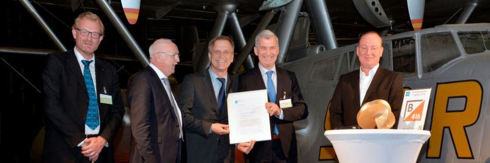 Das 3D-Shuttle-Konzept Adapto von Vanderlande wurde jetzt mit dem VDI Innovationspreis Logistik 2016 ausgezeichnet.