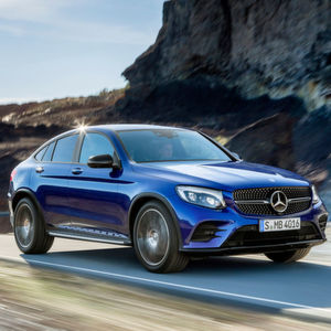 Mercedes GLC Coupé: Eleganter Geländesportler