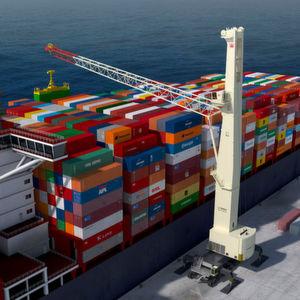 Hafenmobilkran modell 8 als neue variante - Terex material handling port solutions ag ...