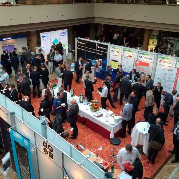 Praktisch alle Firmen, die im Storagebereich Rang und Namen haben, waren auf der Storage Technology Conference