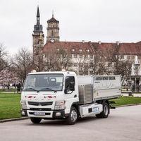 Erster deutscher Lkw-Flottentest mit null Emissionen