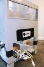 Quattromix-Mischsystem mit integrierten Quattroflow 4-Kolben-Membranpumpe