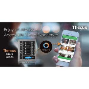 Orbweb.me jetzt auch für Linux-NAS von Thecus
