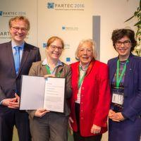 Doris Segets erhält Friedrich-Löffler-Preis für Partikelforschung