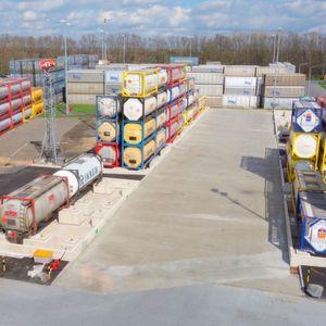 Neues Gefahrstofflager im Chemiepark Knapsack eröffnet