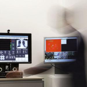 Monitor optimiert Krankenhaus-Abläufe