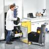 Laborsicherheit: Wie unterscheiden sich aktive und passive Lagerung?