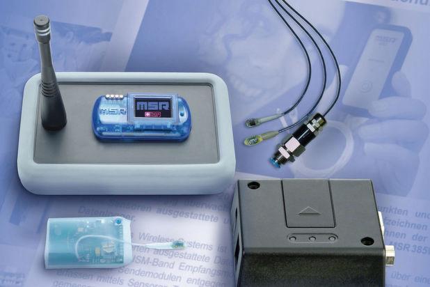 Fernüberwachung per Wireless-Mini-Logger