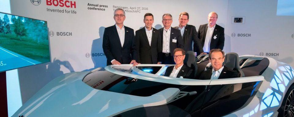 Bilanzpressekonferenz: Bosch bleibt auf Kurs