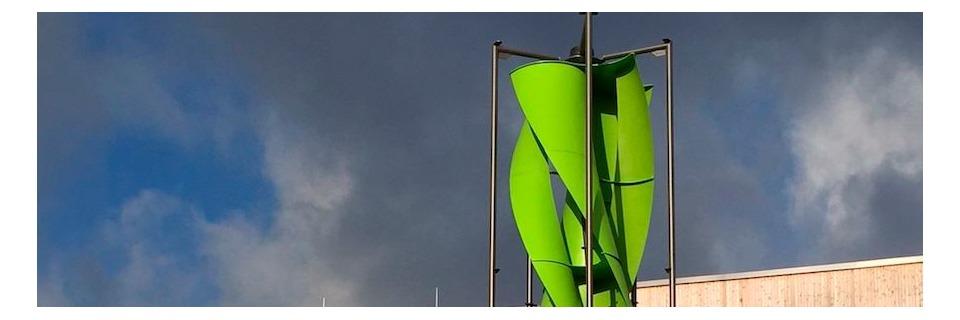 Kleinwindkraftanlage gewinnt Industriepreis