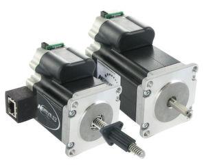 Die Entwicklung der integrierten Schrittmotorantriebe bis zur Industrie-4.0-Fähigkeit