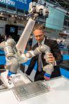 Industrie 4.0-Roboter sollen deutschen Mittelstand revolutionieren