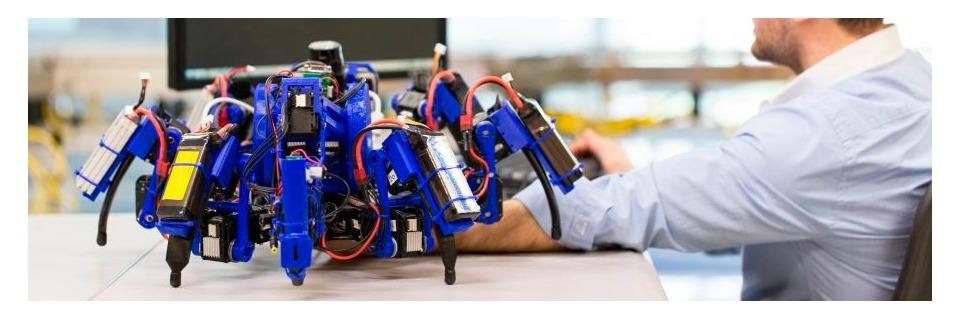 Siemens-Spinnen sollen 3D-Druck revolutionieren