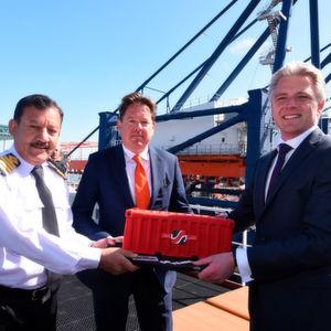 Rotterdam feiert 50 Jahre Containerhafen