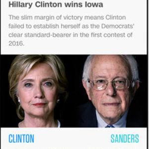 US-Wahl-App mit Tools von CA Technologies entwickelt