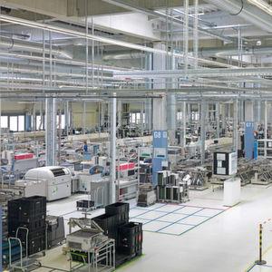 Datennetz in der Produktion redundant restrukturiert